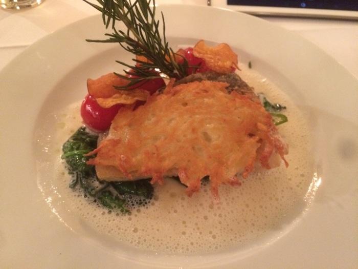 Cafe Einstein Stammhaus fish