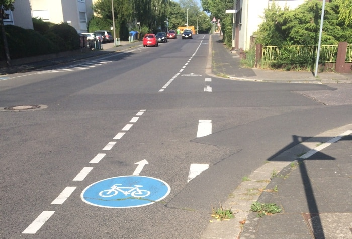 piste cyclable Bonn