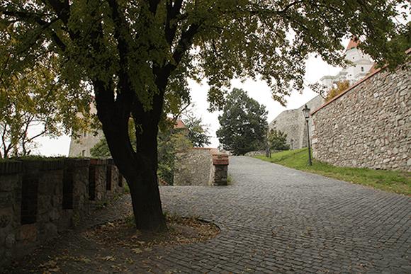 Jardin du Château de Bratislava