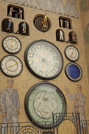 Horloge astrononique, Olomouc