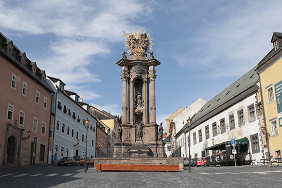 Colonne de la peste, Banska