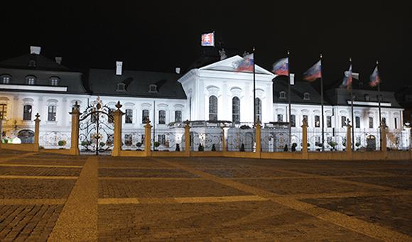 Palais présidentiel Bratislava