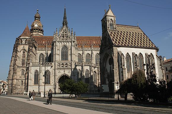 Cathédrale Ste-Élisabeth, Kosice