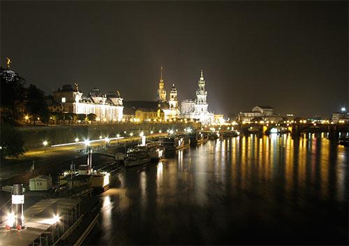 Dresden am Nacht