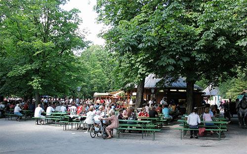 Englischer Garten Biergarten
