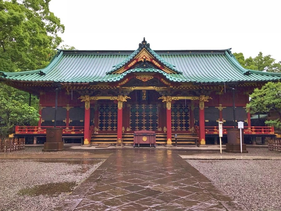 Yushima Shrine