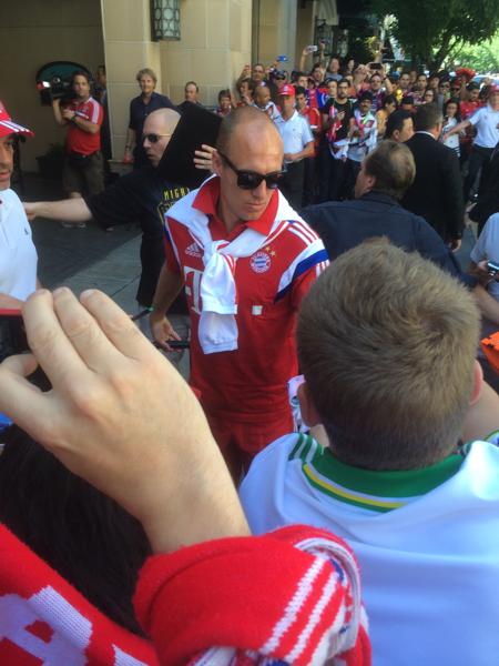 Arjen Robben Portland