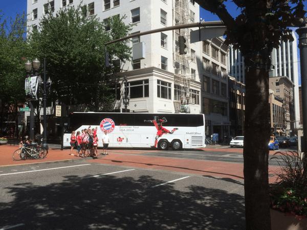 Bayern bus Portland