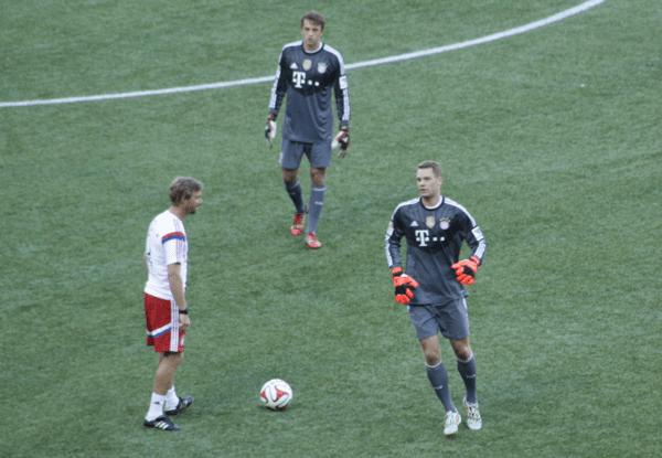Manuel Neuer Portland