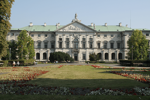 Le palais Krasinskich
