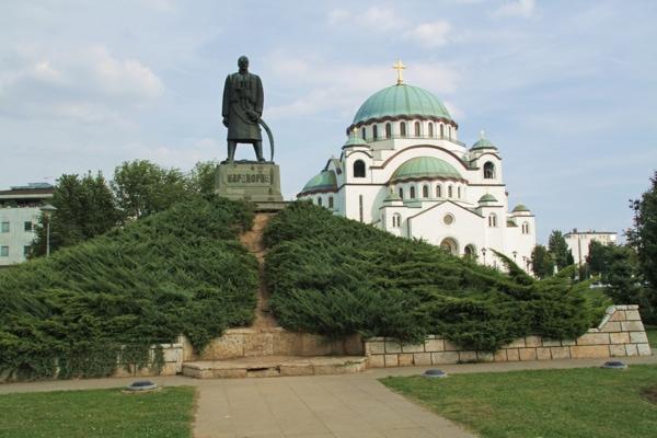 Le monument à l'insurrection de 1804, Belgrade