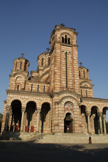 Église St. Mark, Belgrade
