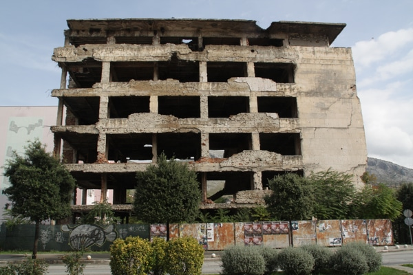 Ruines Mostar