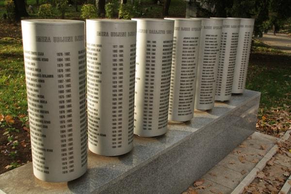 Sarajevo siege monument