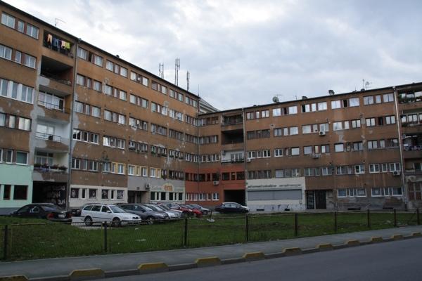 Quartier communiste Sarajevo