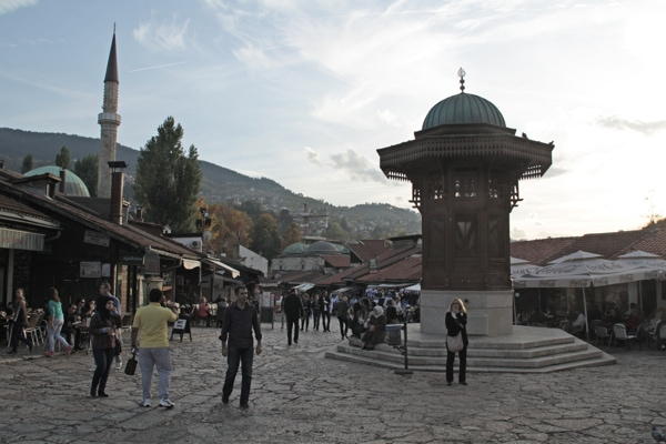 Quartier turc Sarajevo