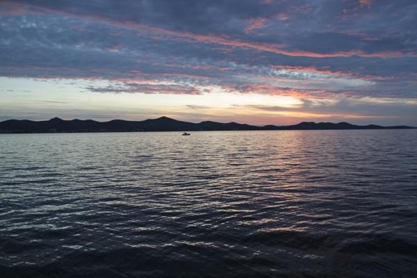 Coucher de soleil Zadar