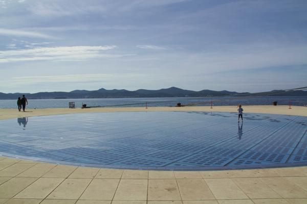 Salutation du soleil, Zadar