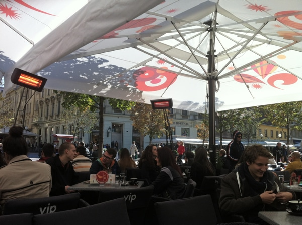 Café VIP, Zagreb.
