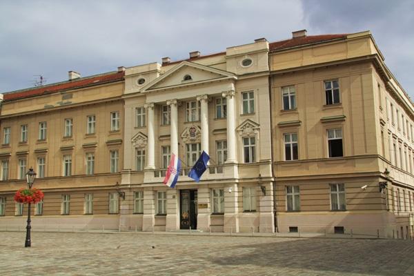 Le parlement de Zagreb