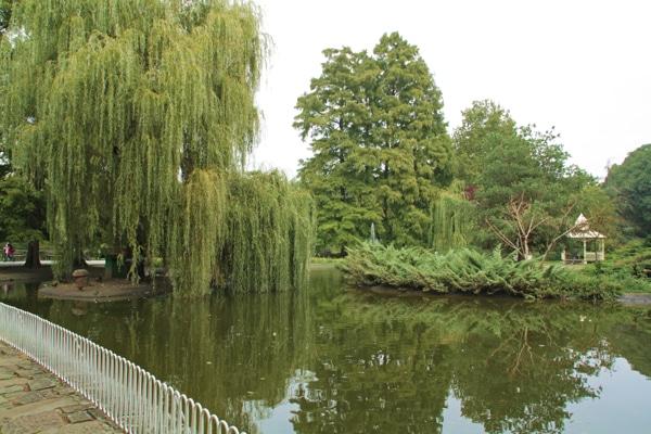 Un parc à Novi Sad