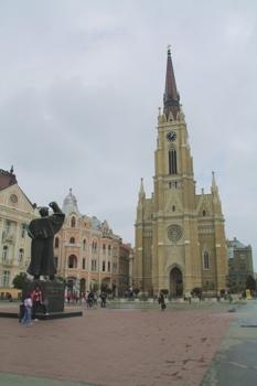 Une église à Novi Sad