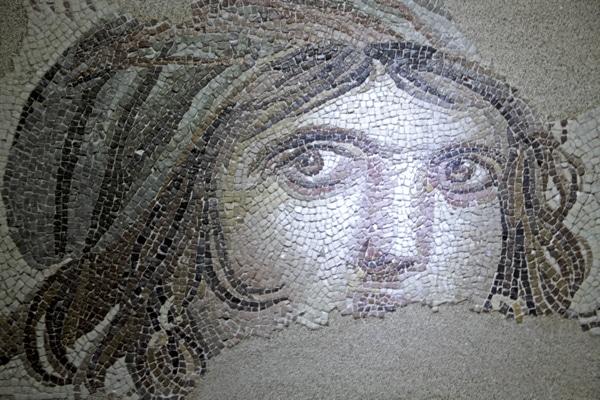 Gipsy Girl mosaic Gaziantep