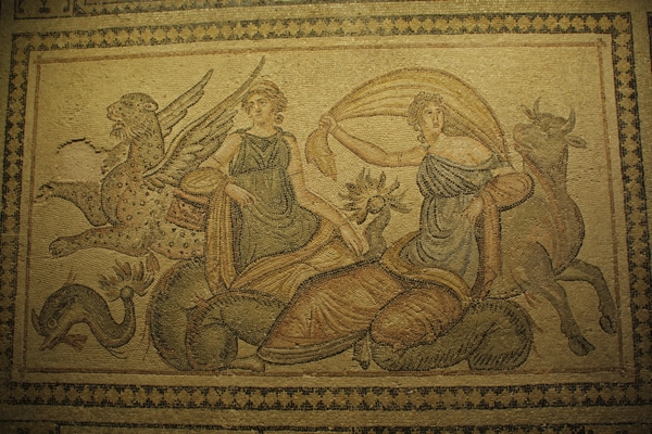 Mosaic Museum Gaziantep Zeus