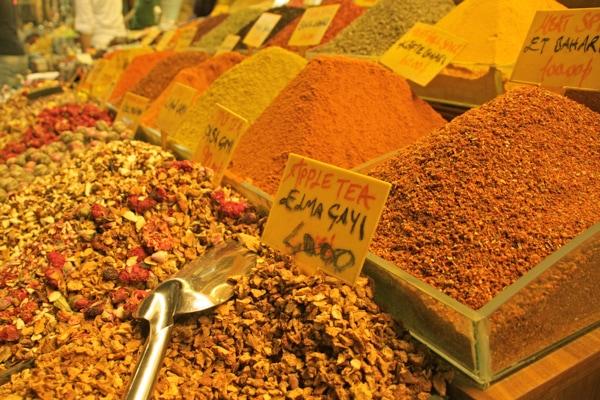 Bazar épices Istanbul