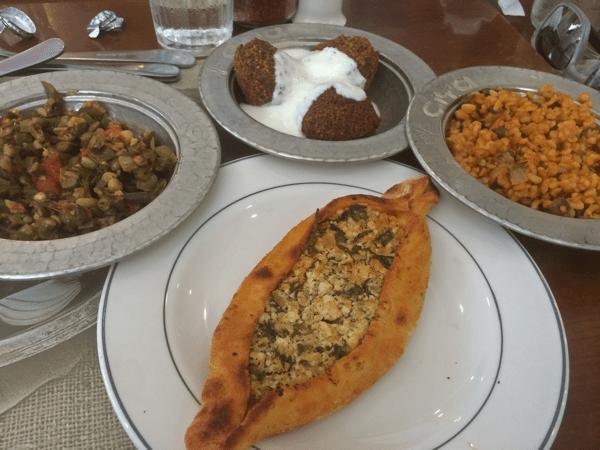 cuisine ottomane, Istanbul