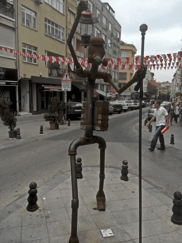 statue Istanbul