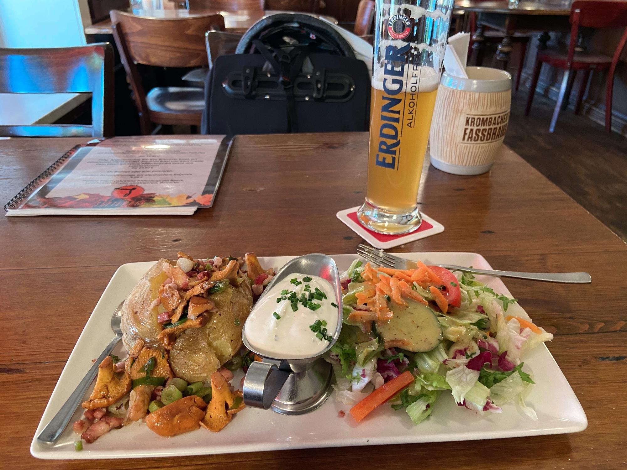 Hamburg dinner