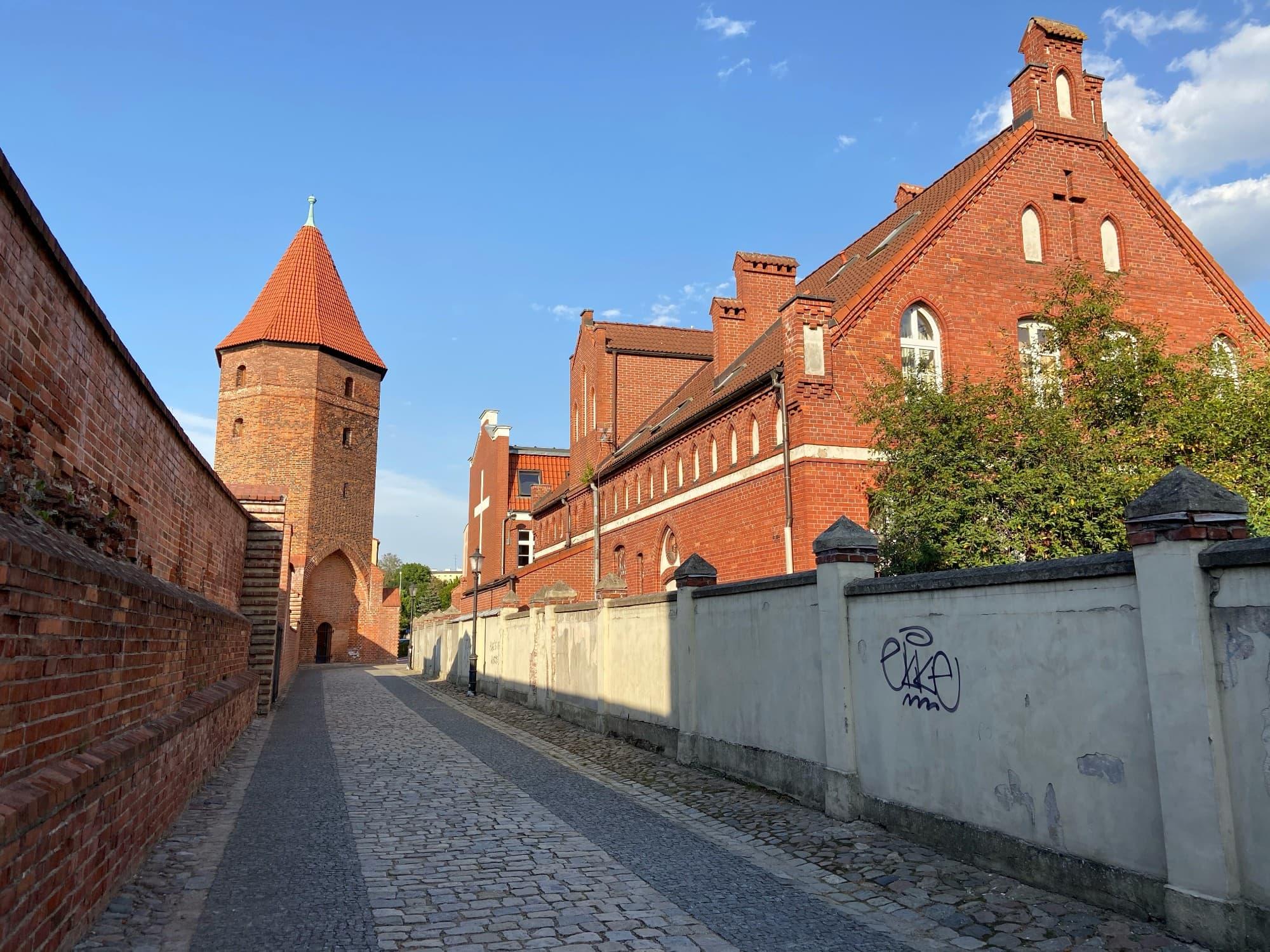 Lebork tower