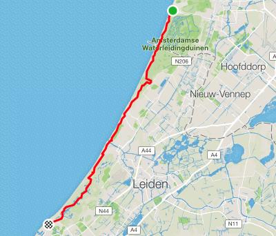 Zandvoor to Den Haag